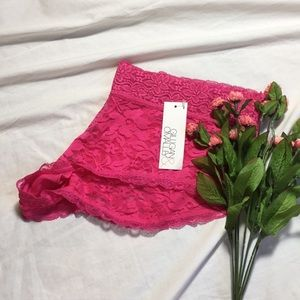 XL Gillian & O' Malley lace hipster panties